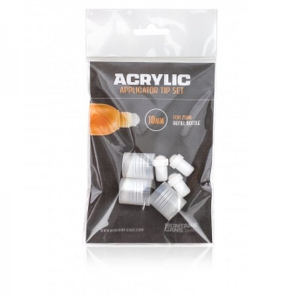 Acrylic Applicator Tip Set
