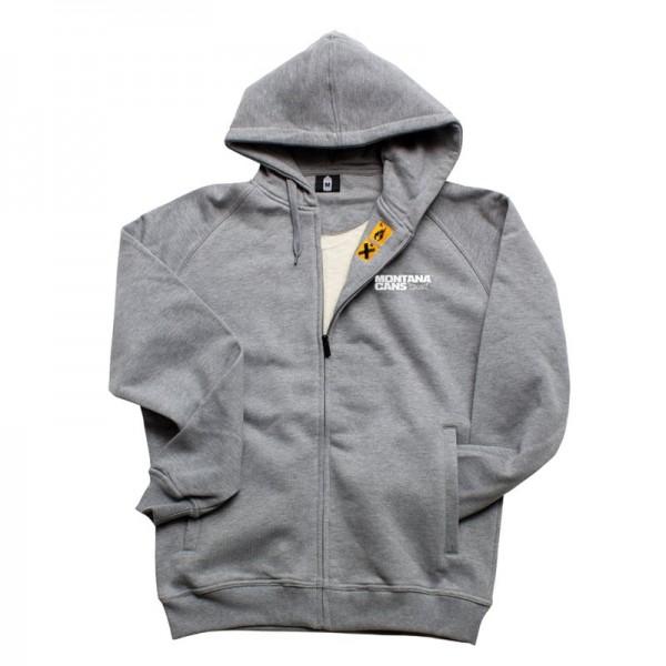 Montana Zip Hoodie Grau XXL