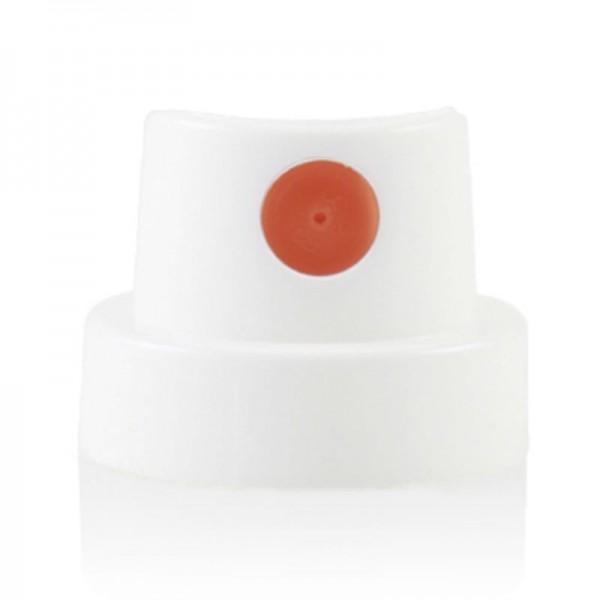 Cap White/Orange ( Fat )