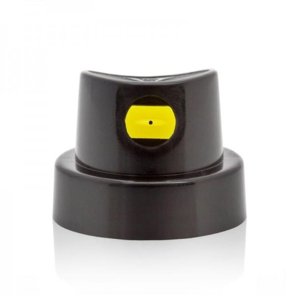 Cap FlatJet BLK/Yellow