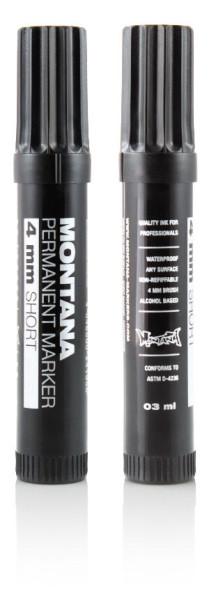 PM Permanent Marker - Black