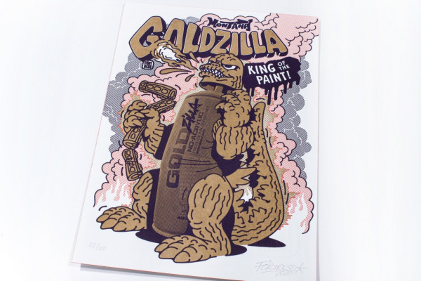 GOLDZilla – The King of Cans by Förtress