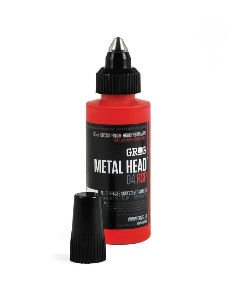 Grog Metal Head RSP - Obitory Green
