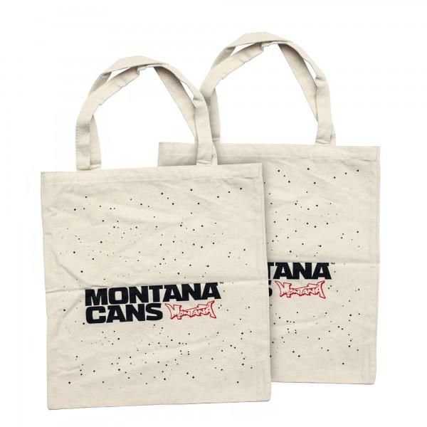 Cotton Bag - Logo ans Stars Natural